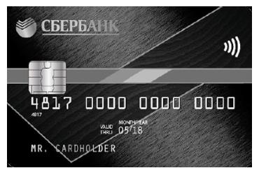 Кредитная карта Сбербанка Signature «Аэрофлот»